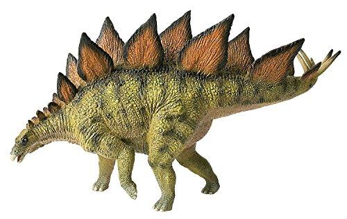 Bullyland 61470 - Spielfigur, Stegosaurus, ca. 22,5 cm groß, liebevoll handbemalte Figur, PVC-frei, tolles Geschenk für Jungen und Mädchen zum fantasievollen Spielen