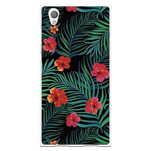 Wephone Accesorios Funda Dibujo Flores WP029 para Sony Xperia L1