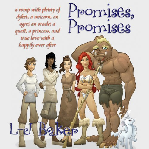 Promises, Promises     A Romp with Plenty of Dykes, a Unicorn, an Ogre, an Oracle, a Quest, a Princess, and True Love with a Happily Ever After              Auteur(s):                                                                                                                                 L-J Baker                               Narrateur(s):                                                                                                                                 Kitty Hendrix                      Durée: 7 h et 14 min     Pas de évaluations     Au global 0,0