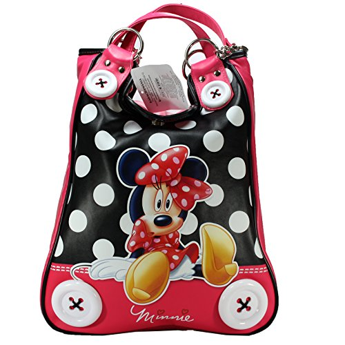 Disney Minnie Mouse Handbag Damen Handtasche Damentasche Tasche Henkeltasche Umhängetasche