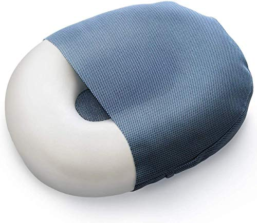 Milliard Donut Seat Cushion, Foam Pillow with Removable and Washable Cover- Large, 50cm x 38cm