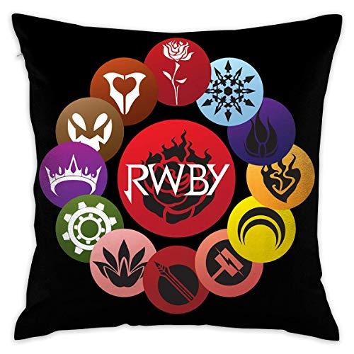 WO918 RWBY Decorative Cushion Cover Pillow Covers Case Pillowcases Kissenbezüge (45cmx45cm)