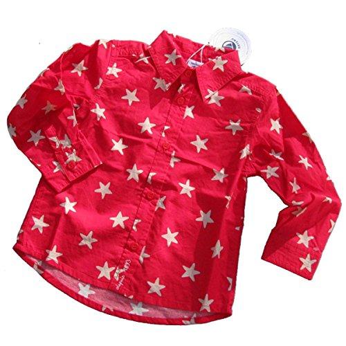 Petit Bateau Chemise Motif étoiles Rouge - Rouge - 2 mois