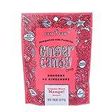 Gem Gem Ginger Candy Chewy Ginger Chews (Mango, 5.0oz, Pack of 1) by Gem Gem