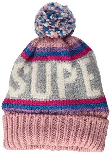 Superdry Neon Beanie Conjunto de accesorios de invierno, Pink, OS (Talla del...