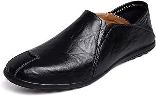 [Z.L.F] シューズ ビジネス メンズ 柔軟 革靴 紳士靴 シンプル 快適 靴