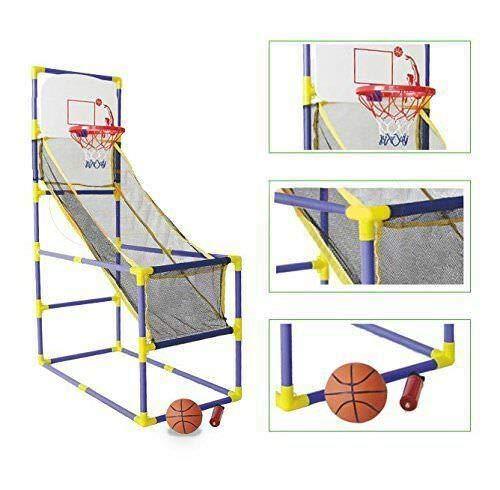 Buy (GG) Indoor Basketball Hoop Arcade Game Room Kids Goals Ball Pump Family