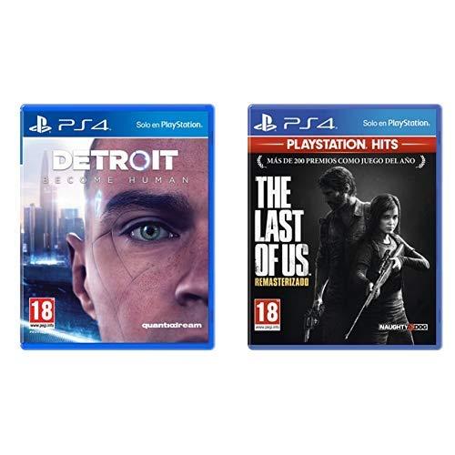 Detroit Become Human - Edición Estándar & The Last of us Hits - Versión 14