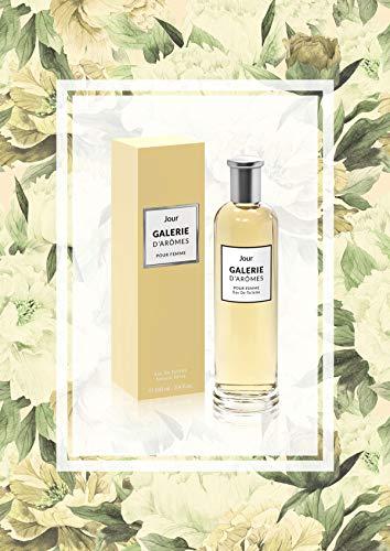 Galerie d Aromes Jour Eau de Toilette per Donna 100 ml (3.4 fl.oz) Vaporisateur Spray, fragranza Dolce e Floreale per lei