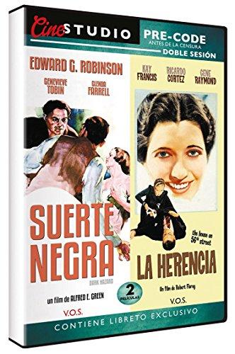 Cine Studio Doble Sesión - Suerte Negra + La Herencia [DVD]