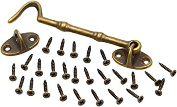 gruesos dormitorios Juego de 4 cierres de puerta de granero de 5.5 pulgadas Magiin puertas correderas s/ólidos para puertas correderas