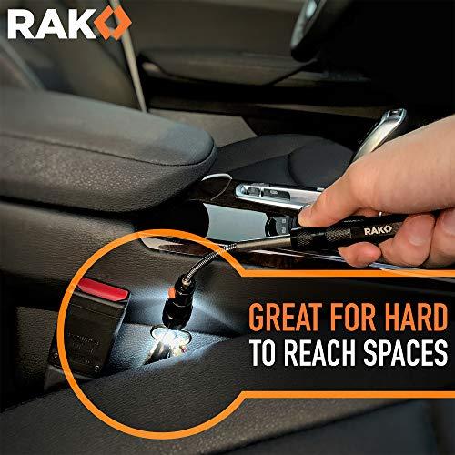 Product Image 4: RAK Magnetic Pickup Tool with LED Lights – Telescoping Magnet Pick Up Gadget Tool for Men, DIY Handyman, Father/Dad, Husband, Boyfriend, Him, Women