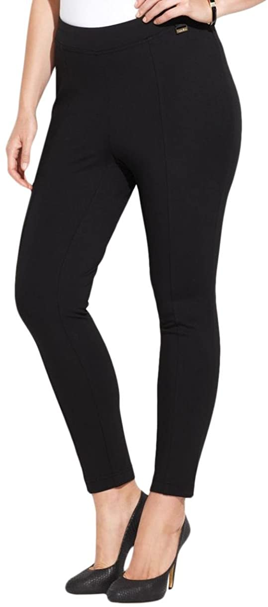 Calvin Klein Women's Plus Size Essential Power Stretch Ponte Legging