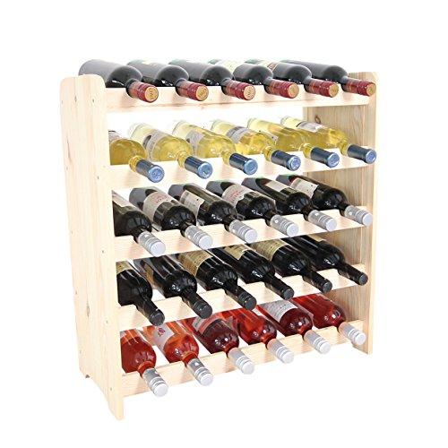 Weinregal Weinregal Holz Flaschenregal für 30 Flaschen NEU!!!