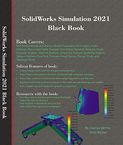 SolidWorks Simulation 2021 Black Book (English Edition)