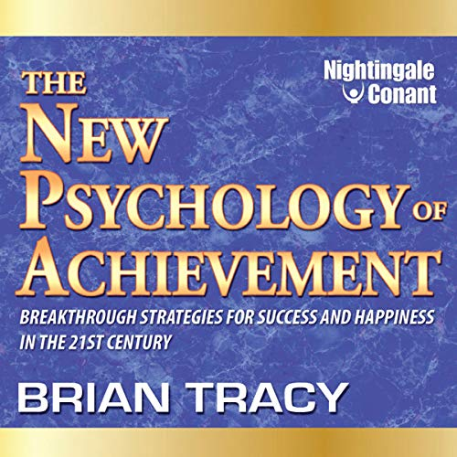 Page de couverture de The New Psychology of Achievement