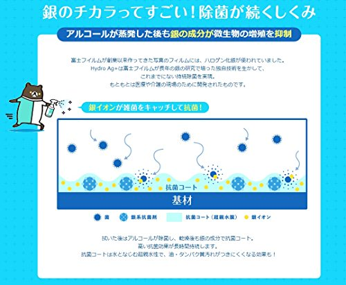 富士フイルム HydroAg+ 持続除菌クロス40枚入り 3個セット