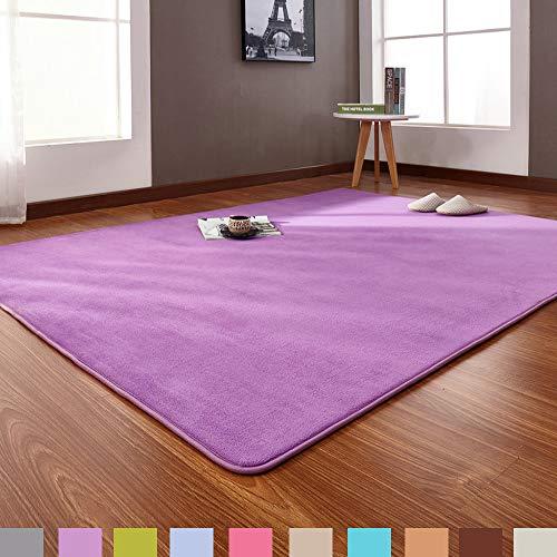 Woonkamertapijt, Shaggy, modern design, voor kinderkamer, gemakkelijk te reinigen, antislip, voor slaapkamer, woonkamer, babykamer, speeltapijt voor baby's, 140 x 200 cm