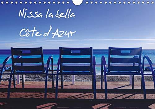 Nissa la bella Côte d'Azur (Calendrier mural 2021 DIN A4 horizontal): La ville de Nice sous le soleil (Calendrier mensuel, 14 Pages )