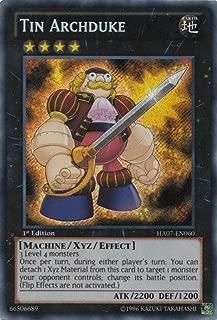Yu-Gi-Oh! - Tin Archduke (HA07-EN060) - Hidden Arsenal 7: Knight of Stars - 1st Edition - Secret Rare