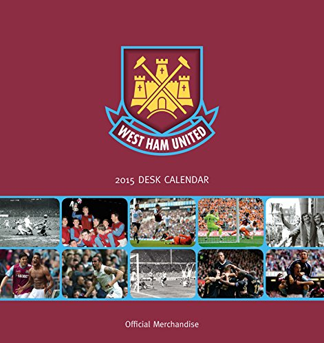 Official West Ham FC 2015 Desk Tent Calendar