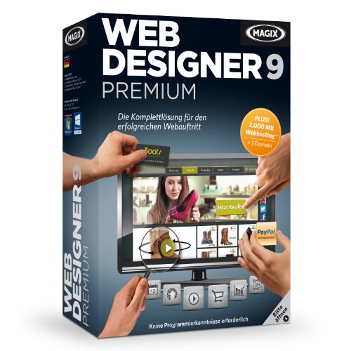 Magix web designer 9 premium [import allemand]