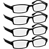 Reading Glasses - 9501HP - 4-BLACK - 1.50