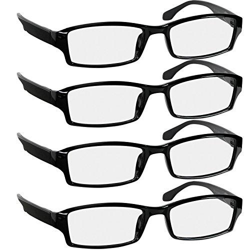 Reading Glasses - 9501HP - 4-BLACK - 1.75