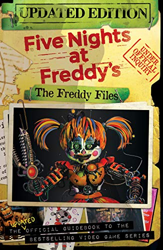 Five Nights At Freddy's: The Freddy Files (Updated Edition) (English Edition)