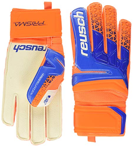 Reusch Torwarthandschuhe Prisma RG Finger Support Blau/Orange (953) 8,5