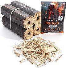 Instafire Fire-Logs - Firewood Logs - Easy Fire - Safe, Efficient, Environmentally Friendly - 4 Pack