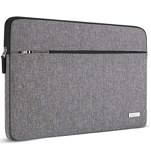 "DOMISO 14 Zoll Laptop Sleeve Case Hülle Tasche für 13.5"" Surface Book / 14\"" HP 14 Pavilion 14/14\"" Lenovo Flex 6 IdeaPad 520S 320S / ASUS E402 E403 / Dell Latitude 3460 3470 (Grau)"