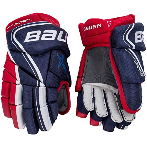 Bauer Handschuhe Vapor X800 Lite S18 Junior Größe 10 Zoll, Farbe Schwarz/Weiss