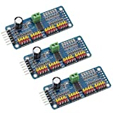 Onyehn 16 Channel PWM Servo Motor Driver PCA9685 IIC Module 12-Bit for Arduino Robot or Raspberry pi(Pack of 3pcs)