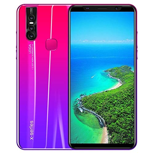 SALE & CLEARANCE 2019 New Unlocked Cell Phone, 5.8inch Ultrathin Dual SIM Unlocked Smartphone, Android 8.0 1G+4G GPS 3G Call 3800mAh Touch Screen Smartphone Mobile Phone (Red)