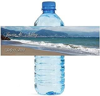 Best beach wedding water bottle labels Reviews