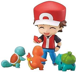 XXSDDM-WJ Pokemon Figure Pikachu Ash Ketchum Figura de acción Cute Toy Q versión más de 3 93 pulgadas-1225