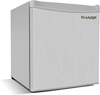 Sharp 65 Liters Mini Bar Refrigerator, Silver - SJ-K75X-SL3