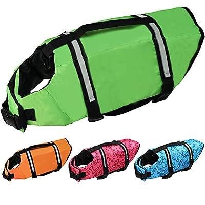 Amazon - 70% Off on Meraviglioso Dog Life Jacket, Dog Swimsuit Safety Flotation Vests Pet Life