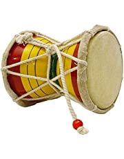 Trading dukan Indian Musical Instruments Damaru Meditation Kirtan Shiv Damroo Percussion