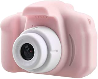 TOOGOO X2 Children Video Camera 2 Inch Digital Photo Camera Screen Chargable Digital Camerafor Kid Gift (Pink)