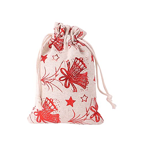 Christmas Candy Bags Christmas Treat Bags Drawstring Gift Bag Colorful Goodie Bags Party Favors Wraps Gift Wrapping Bags for Xmas Party Birthday Wedding