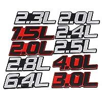 WANGXI 3Dカーステッカーメタルロゴカースタイリングメタルバッジエンブレムテールデカールモーターサイクル、BMW用、アウディ用、メルセデス用、フォード用、ホンダ用、トヨタ用、日産用