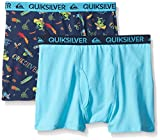 Quiksilver Little Boys' Mexican Theme Boxer Briefs, Assorted Print, Small/6/7 (Pack of 2)