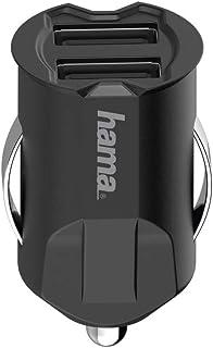 Hama USB Kfz Ladegerät, 2 Fach, 5V/10,5W