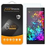 (2 Pack) Supershieldz for (Razer Phone 2) Tempered Glass Screen Protector, Anti Scratch, Bubble Free