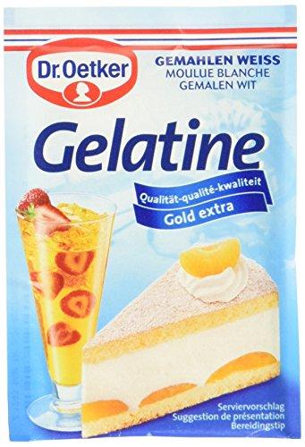Dr. Oetker Gelatine Weiß Gemahlen, 11er Pack (11 x 3 x 9 g)