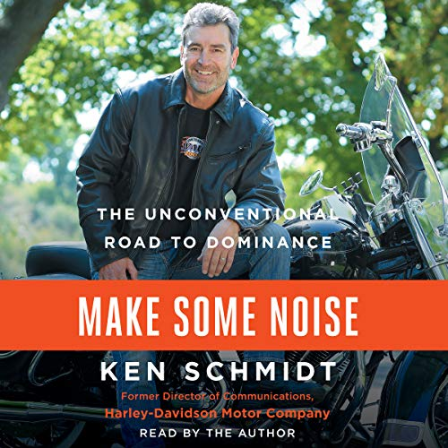 Make Some Noise audiobook cover art