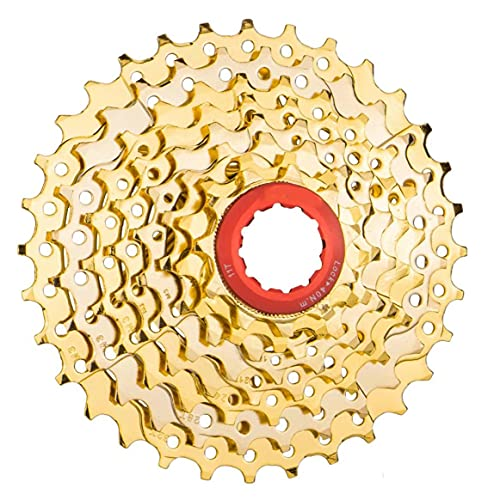 Bike Freewheel 8 Speed ??Cassette 11-32T Design Hollow Design Cassette Rinfiammazione Sostituzione Strumento di ricambio multifunzione Bike Tool
