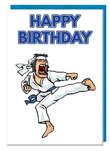 Geburtstagskarte – Thema Karate – Vater – Ehemann – Bruder – Sohn – Großvater – Freund